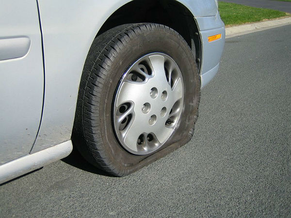 Tyre Puncture Steps To Change Punctured Car Tyre