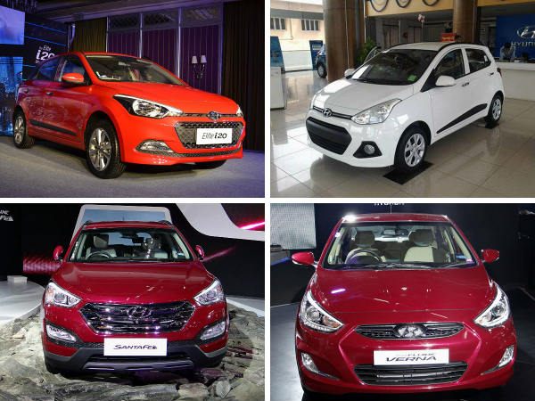Hyundai Hikes Automobile Prices For 2015