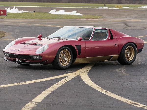 Very Rare Lamborghini Miura To Be Auctioned