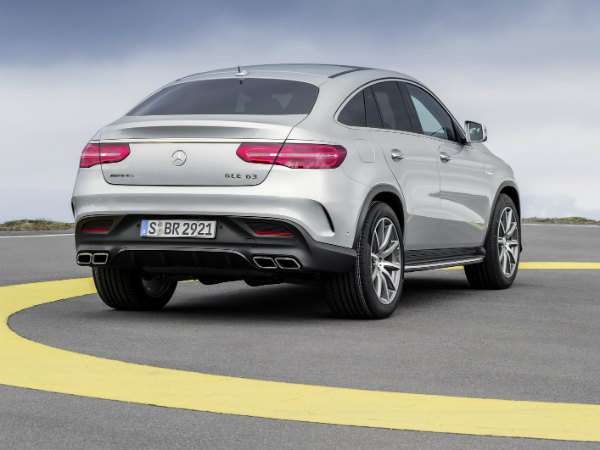 mercedes benz gle 63 sport suv rear