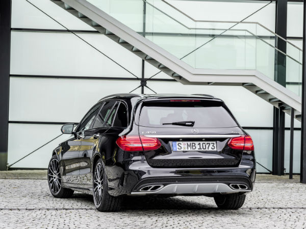 mercedes benz c450 amg sport estate rear