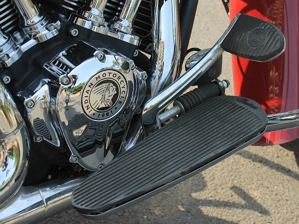 Indian Chief Vintage: Engine