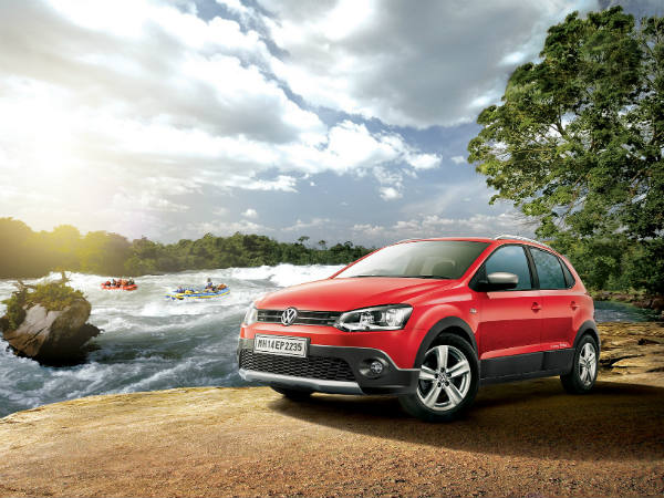 volkswagen cross polo petrol variant price
