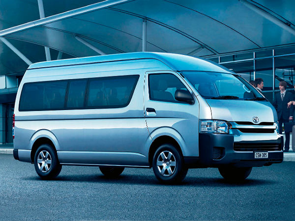 toyota hiace price india