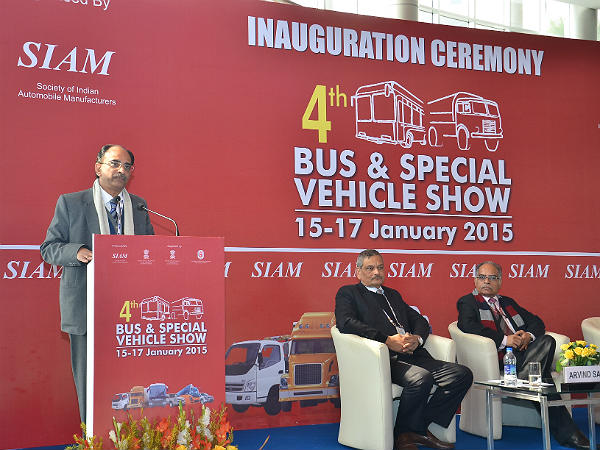siam bus and special vehicle show 2015