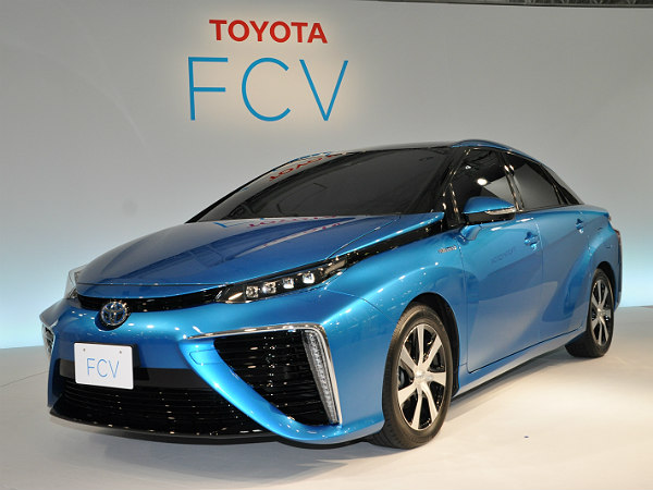 toyota hydrogen fuel cell vehicle