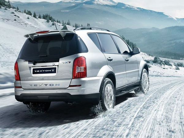 ssangyong rexton facelift features and specs