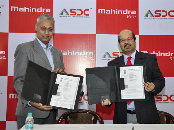 mahindra skill development