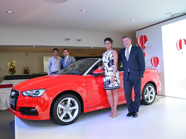 audi a3 cabriolet bangalore launch