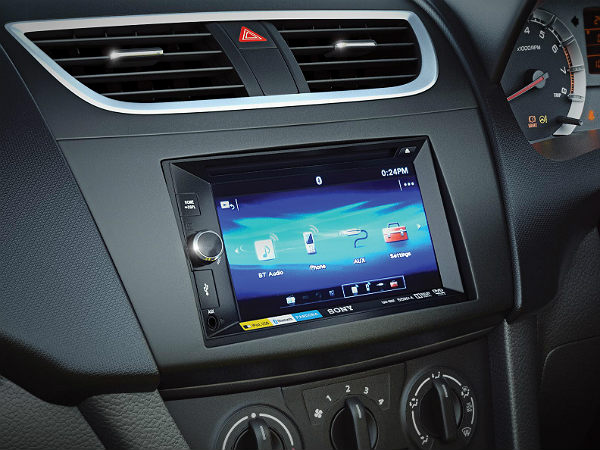 Touchscreen Music System