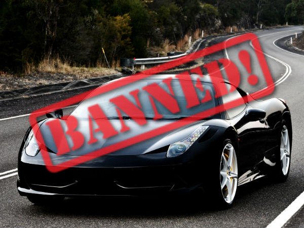 black cars banned in turkmenistan by customs drivespark news. Black Bedroom Furniture Sets. Home Design Ideas
