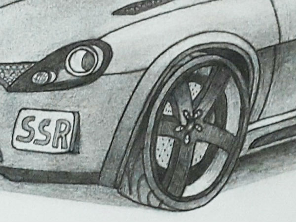 indian sports car concept sketch