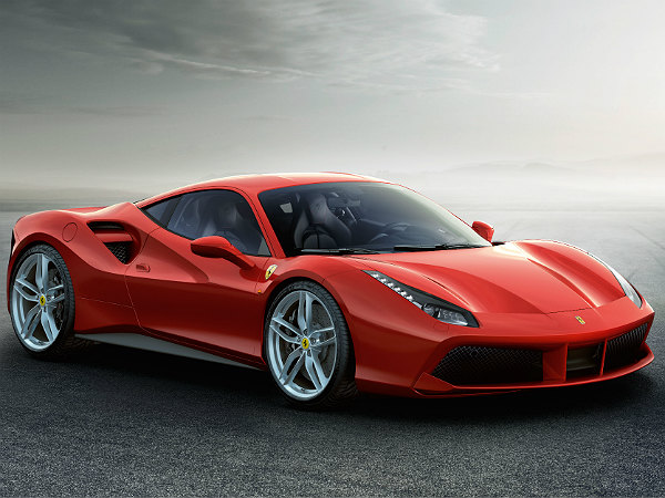 ferrari 488 gtb launch at geneva motor show