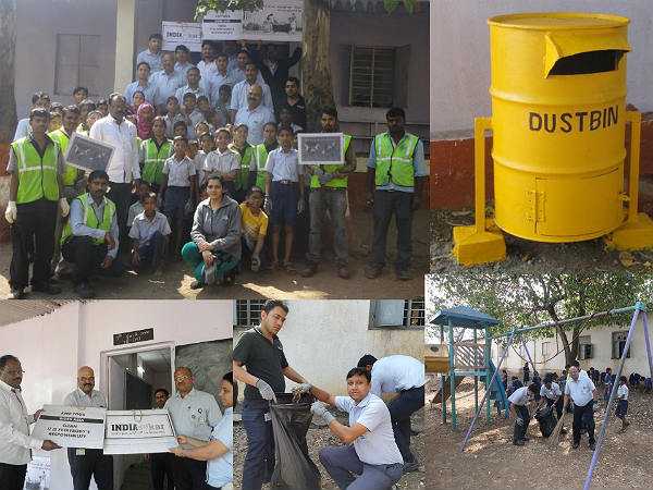 gm cleanliness drive in india