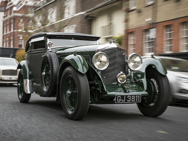 rare bentley car