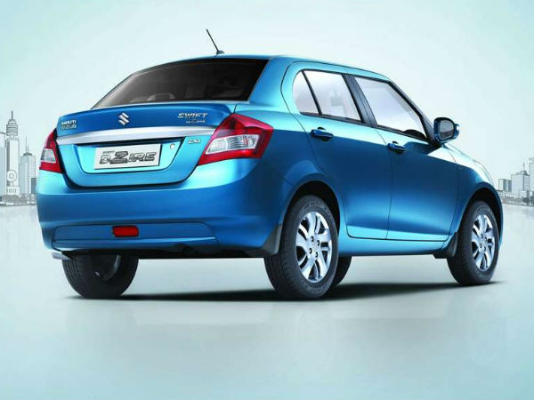 refreshed swift dzire