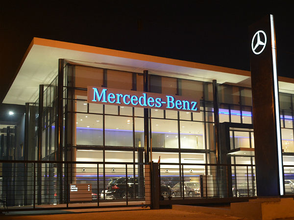 mercedes dealerships