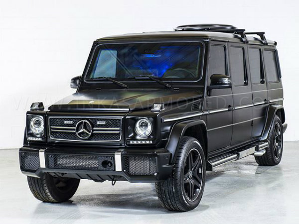 bullet proof mercedes benz g63 amg