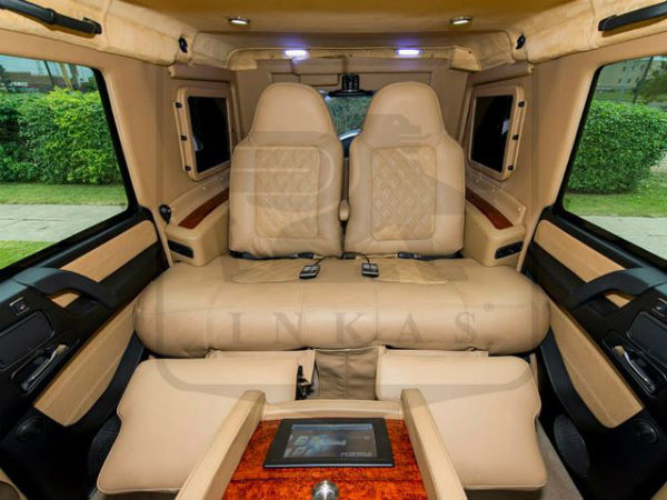 armoured mercedes benz g63 amg features
