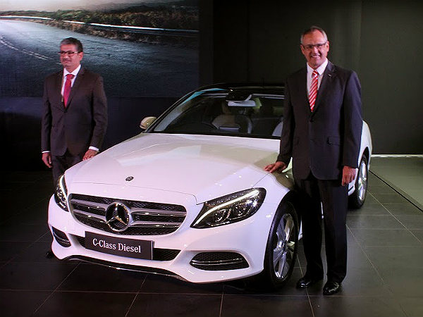 mercedes benz c class diesel launched price specs features more drivespark news. Black Bedroom Furniture Sets. Home Design Ideas