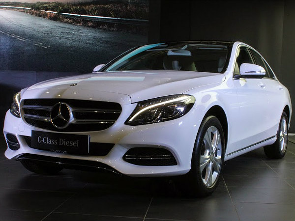 Mercedes benz c class diesel launched price specs for Mercedes benz c class price in india