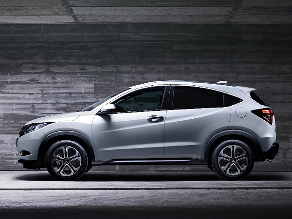new honda hr-v side profile