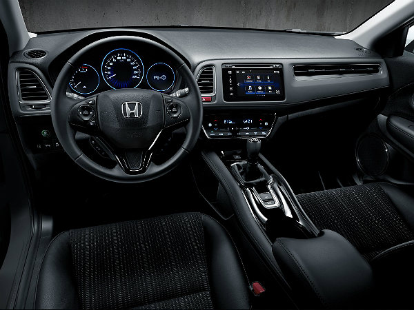 new honda hr-v interior