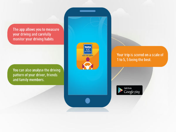 Tata Aig General Insurance Launches Its Drive Safe App