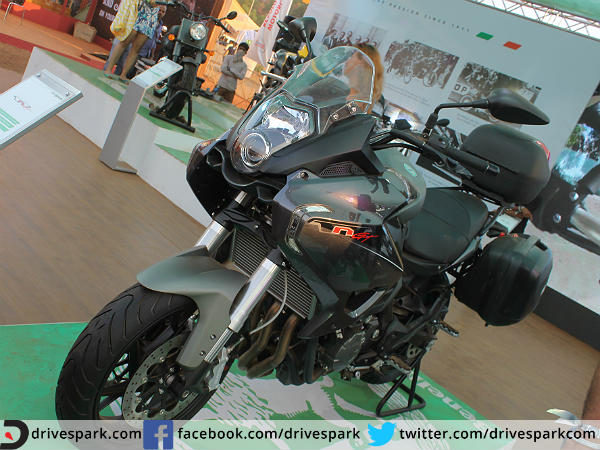 DSK-Benelli TNT 600 GT At India Bike Week 2015