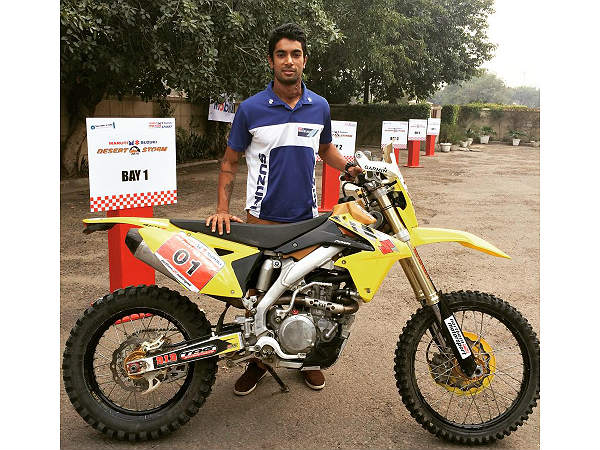 cs santosh 2015 at maruti desert storm