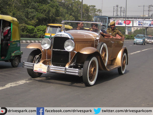 21 Gun Salute Vintage Car Rally 2015