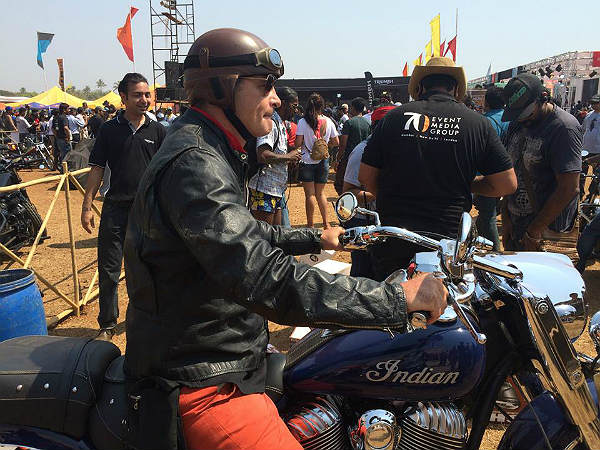 Martin D'costa  Takes Part In India Bike Week & GQ Gentleman's Ride!