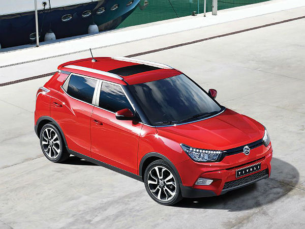 ssangyong tivoli launch soon