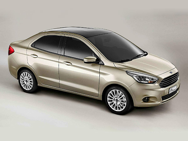 Ford India To Name Its Compact Sedan 'Figo Aspire' - DriveSpark