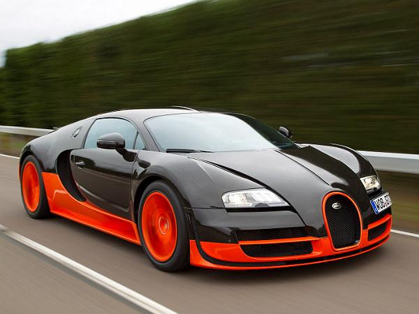 Bugatti veyron miles per gallon