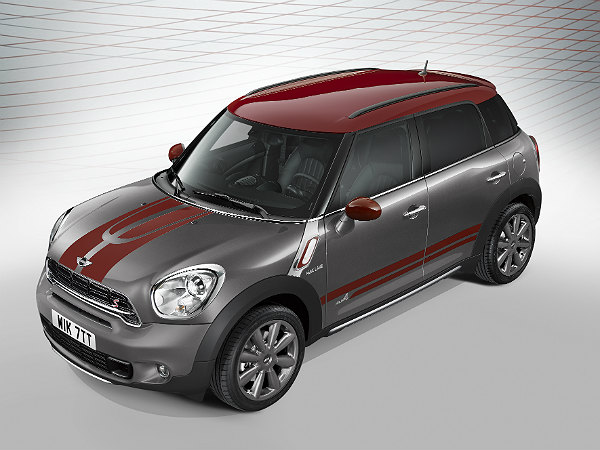 mini countryman park lane features