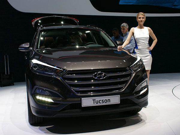 2015 geneva motor show tucson plug in hybrid concept for Motor vehicle department tucson