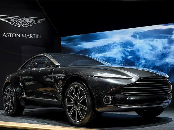 2015 geneva motor show aston martin dbx concept breaks cover drivespark news. Black Bedroom Furniture Sets. Home Design Ideas