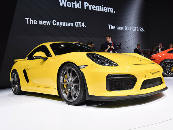 more powerful porsche cayman gt4 rs considered based on. Black Bedroom Furniture Sets. Home Design Ideas