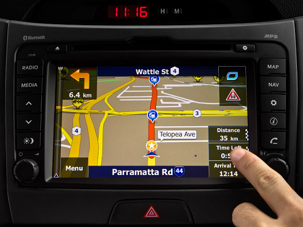 What are the advantages of sat-nav systems?
