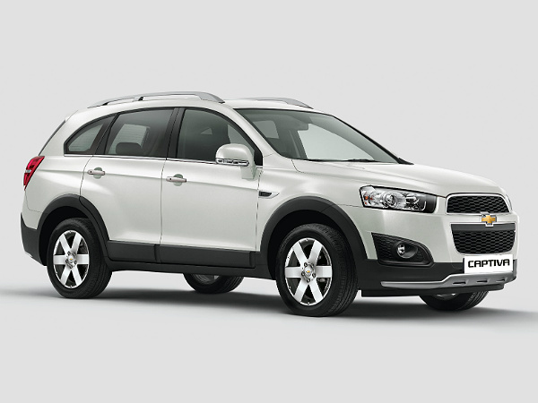 my 15 chevrolet captiva features