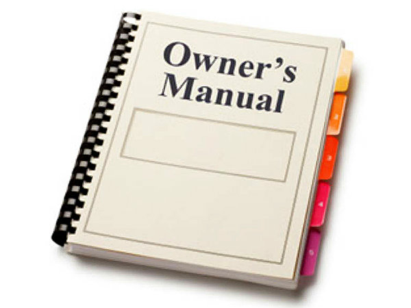 1. Go through the owner's manual: