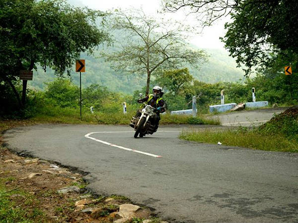 9. Riding with a pillion: