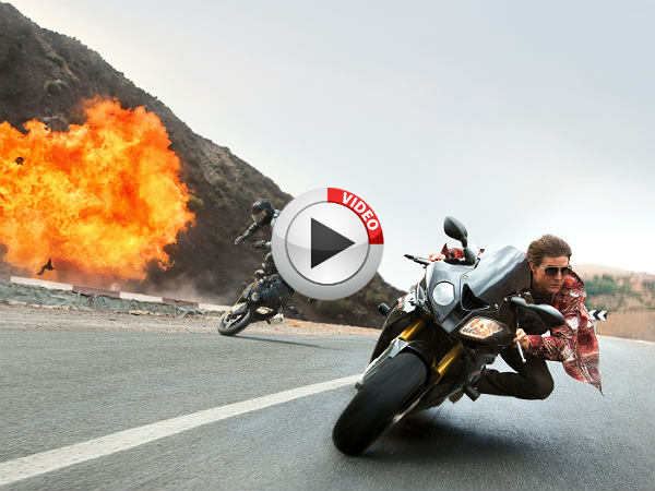 Tom Cruise Rides Bmw S1000rr In Mission Impossible Rogue Nation