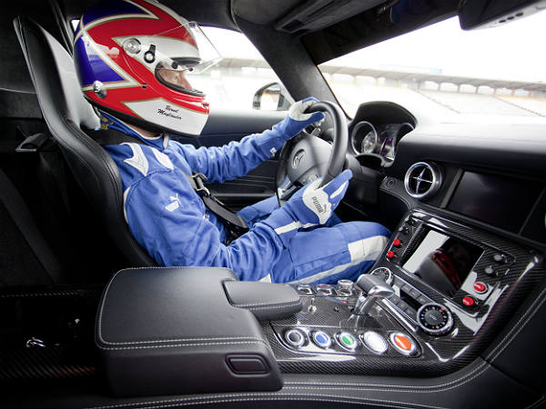 3. Formula One Safety Car Driver: