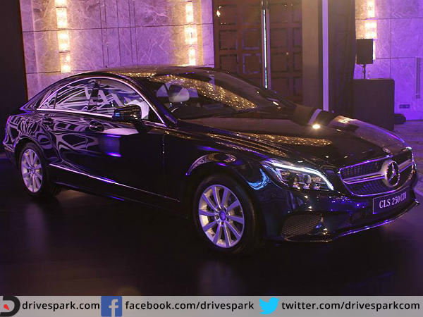 mercedes benz cls engine specifications