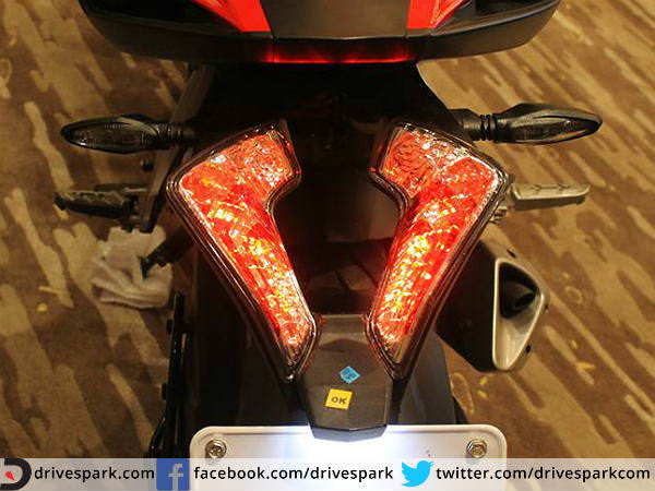 Crystal LED tail lamps: