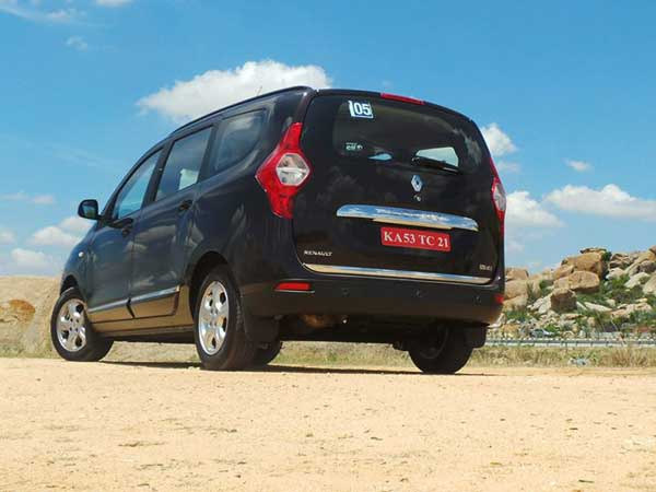 renault lodgy price in india