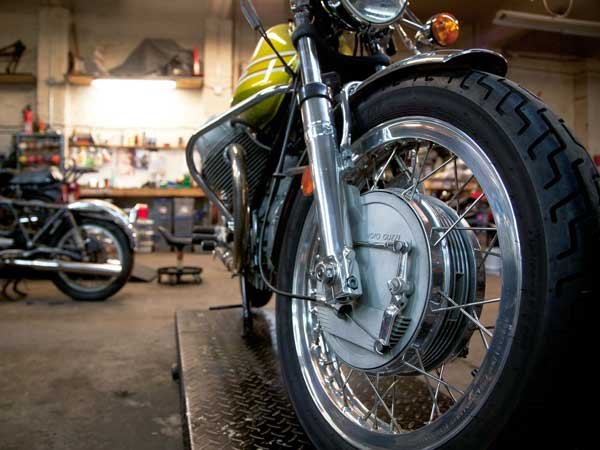 10. Keep your motorcycle well maintained: