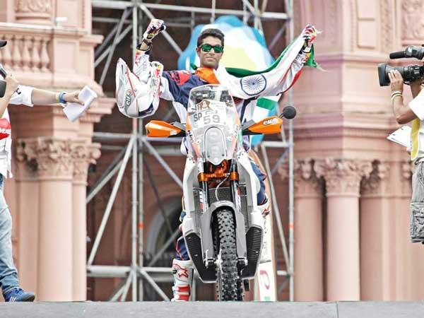 Cs Santosh Indias First Dakar Rally Conqueror To Answer Your Questions